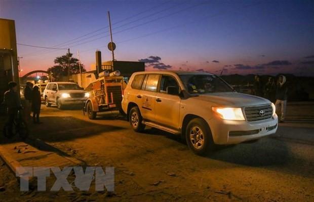 Израиль закрыл грузовой КПП на границе с сектором Газа - ảnh 1