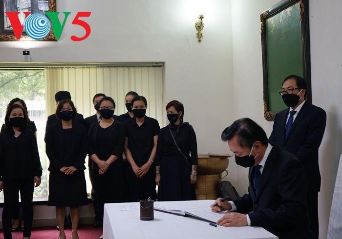В посольствах Вьетнама в Индии и Республике Корея почтили память бывшего генсека ЦК КПВ Ле Кха Фиеу - ảnh 1