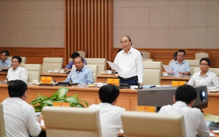 Премьер Вьетнама провел рабочее совещание парткома правительства с парткомом г.Хошимина - ảnh 1