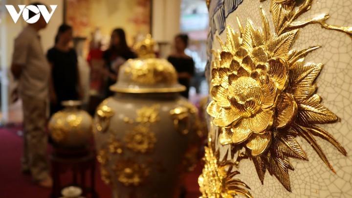 США остаются крупнейшим импортером гончарных изделий Вьетнама - ảnh 1