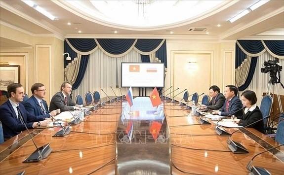 Парламентарии и ученые РФ высоко оценили роль Вьетнама в АСЕАН и межпарламентских организациях - ảnh 1