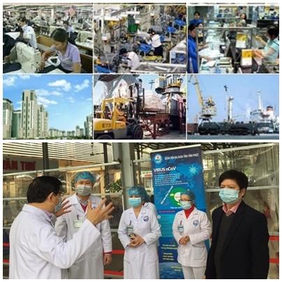 Вьетнам осуществляет «двойную цель» - и борьба с эпидемией, и социально-экономическое развитие страны - ảnh 1