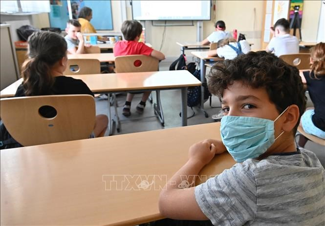 ВОЗ, ЮНЕСКО и ЮНИСЕФ провели совместную пресс-конференцию по возобновлению работы школ - ảnh 1