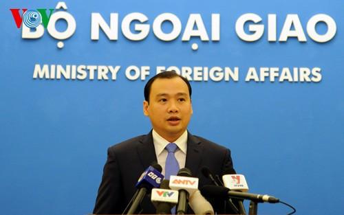 Le Vietnam s'oppose à l'exercice «Nanyuan numéro 1» de Taïwan - ảnh 1