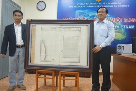 Une nouvelle carte précieuse sur Hoang Sa - ảnh 1