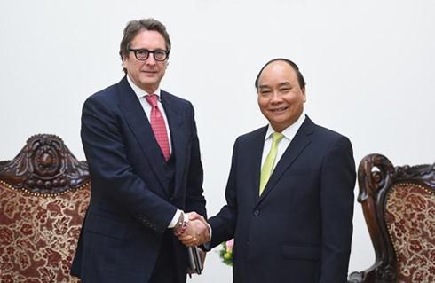 Nguyen Xuan Phuc rencontre le président du Fonds Harbinger Capital - ảnh 1