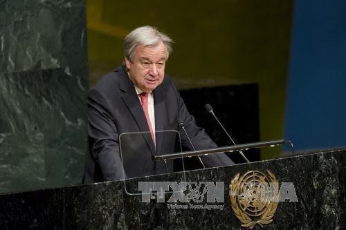 La lutte contre le changement climatique est une nécessité, affirme le chef de l'ONU - ảnh 1