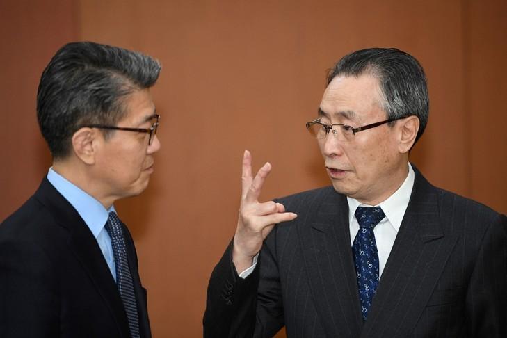 Menace nord-coréenne : rencontre entre Kim Hong-kyun et Wu Dawei - ảnh 1