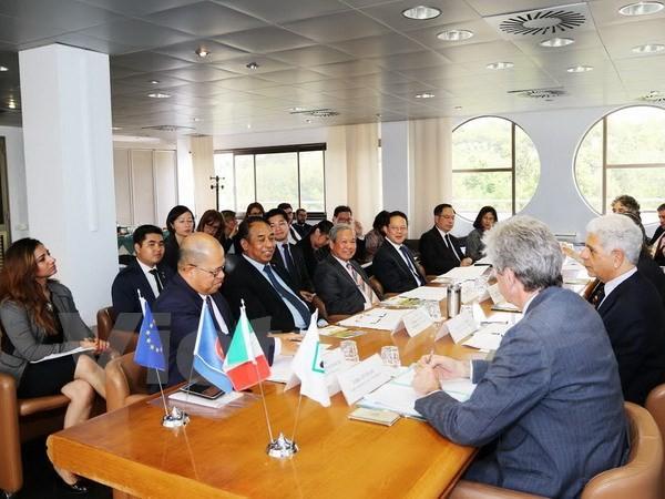 Renforcer la coopération ASEAN-Italie - ảnh 1