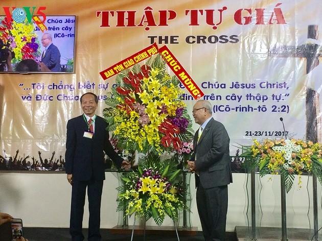 Ouverture de la 5ème Assemblée générale de l'Eglise de la paternité chrétienne du Vietnam - ảnh 1