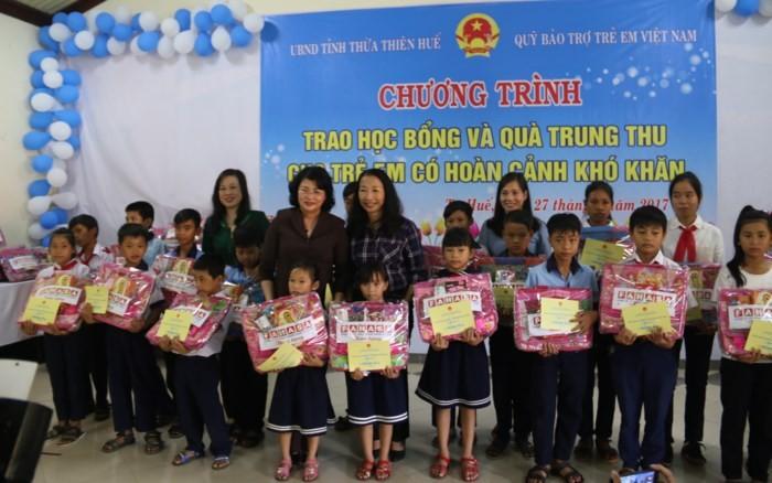 Dang Thi Ngoc Thinh au 30ème anniversaire des villages SOS Vietnam - ảnh 1