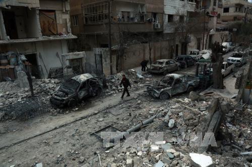 """Ghouta orientale : la """"pause humanitaire quotidienne"""" de 5 heures a débuté - ảnh 1"""
