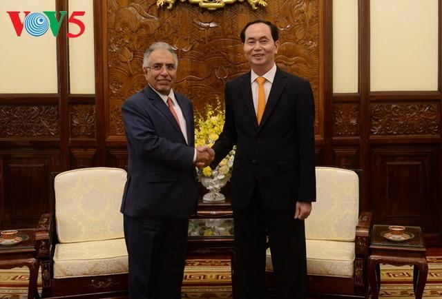 Tran Dai Quang reçoit l'ambassadeur d'Arabie Saoudite - ảnh 1