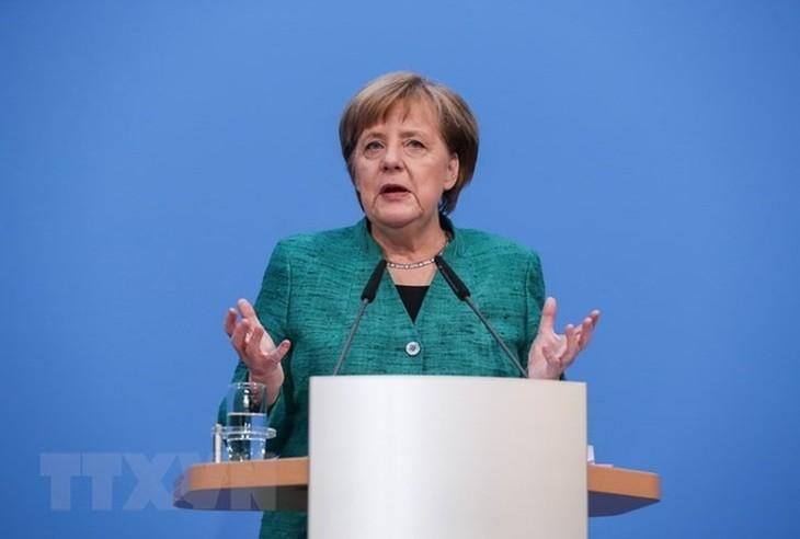 Nucléaire iranien : Angela Merkel en faveur du maintien de l'accord - ảnh 1