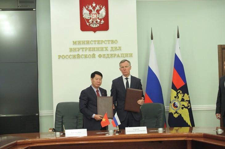 Vietnam-Russe : renforcer leur coopération dans la sécurité  - ảnh 1