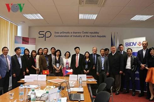 Rencontre des investisseurs vietnamiens et tchèques - ảnh 1