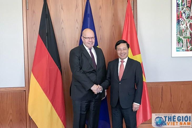 Vietnam-Allemagne : élargissement de la coopération économique - ảnh 1