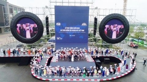 Lancement de la campagne mondiale pour la sécurité routière au Vietnam - ảnh 1