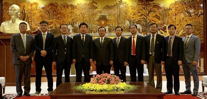 Hanoï créera les meilleures conditions possibles pour les investisseurs sud-coréens - ảnh 1