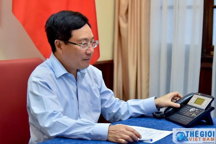Entretien téléphonique Pham Binh Minh - Nasser Al-Mohammad Al-Sabah - ảnh 1