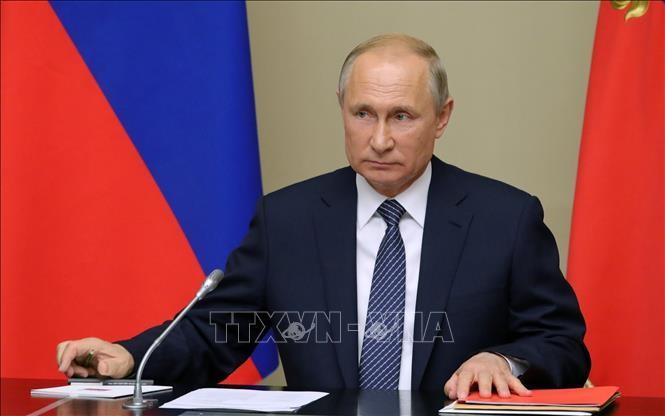Vladimir Poutine remet en question les prochaines étapes de Donald Trump au milieu des manifestations - ảnh 1