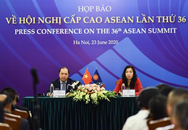 36e sommet de l'ASEAN: solidarité et consensus   - ảnh 1