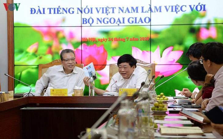 La Voix du Vietnam renforce sa collaboration avec le ministère des Affaires étrangères - ảnh 1