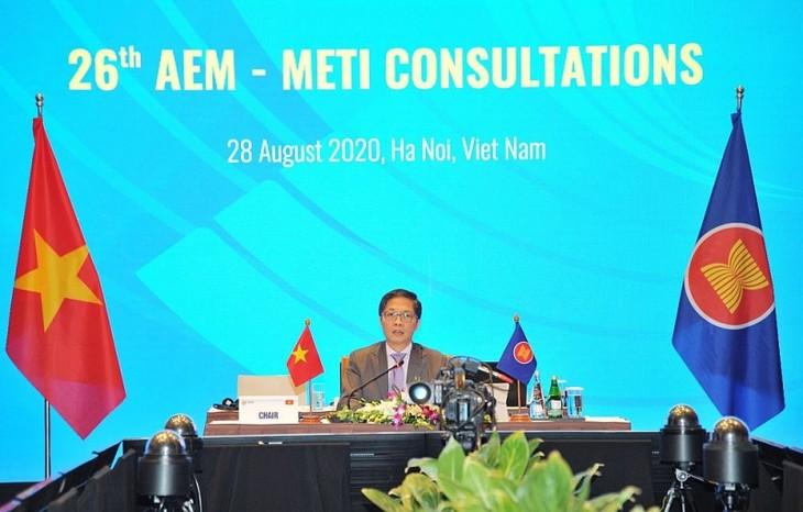 26e consultation sur la coopération économique ASEAN-Japon - ảnh 1