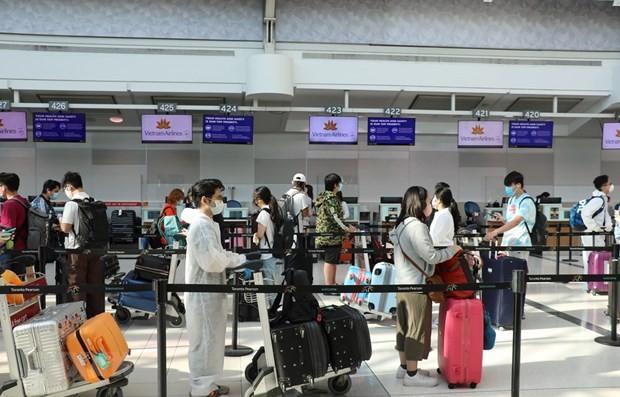 Près de 350 Vietnamiens rapatriés d'Australie - ảnh 1