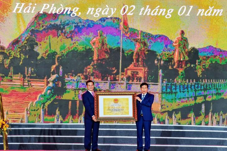 Haiphong: le site Bach Dang Giang classé dans la liste des vestiges hisoriques nationaux  - ảnh 1