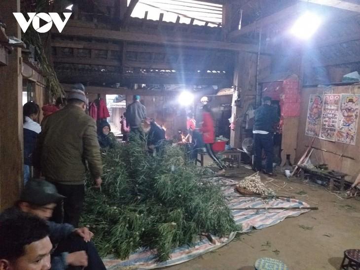 Pung nhnang, la fête familiale des Dao Tiên - ảnh 1