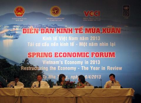 Khai mạc Diễn đàn Kinh tế Mùa xuân 2013 tại Nha Trang - ảnh 1