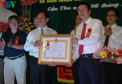 VOV Đồng bằng sông Cửu Long  nhận Huân chương Lao động hạng Nhì - ảnh 1