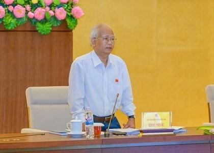 Phiên họp thứ 41, Ủy ban Thường vụ Quốc hội khóa XIII giám sát việc quản lý, sử dụng đất đai - ảnh 1