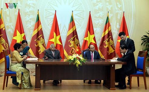 Tuyên bố chung Việt Nam - Sri Lanka - ảnh 1