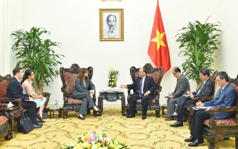 Thủ tướng Nguyễn Xuân Phúc tiếp Đại sứ Israel tới chào từ biệt - ảnh 1