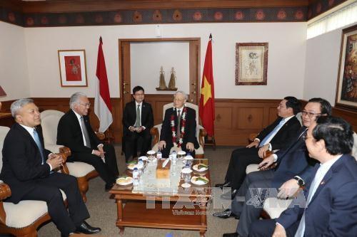 Việt Nam và Indonesia đẩy mạnh và mở rộng hợp tác trên mọi lĩnh vực - ảnh 1