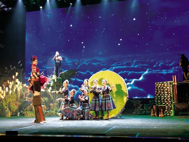 Vở diễn Mỵ và những nét đặc sắc của văn hóa Việt Nam đến với du khách - ảnh 1