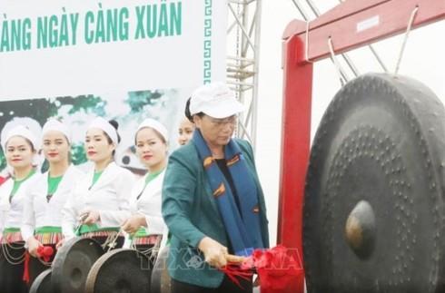 Chủ tịch Quốc hội dự Lễ ra quân hưởng ứng Tết trồng cây tại Hòa Bình - ảnh 2