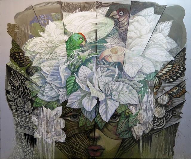 Triển lãm tác phẩm mỹ thuật của các nghệ sĩ tiêu biểu Châu Á - ảnh 4