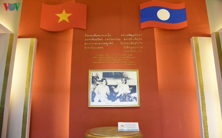 Khu lưu niệm Chủ tịch Hồ Chí Minh: Nơi gắn kết tình đoàn kết Việt-Lào - ảnh 2