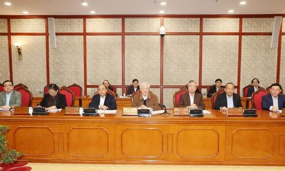 Thông báo kết luận của Bộ Chính trị về công tác phòng chống dịch Covid-19 - ảnh 1