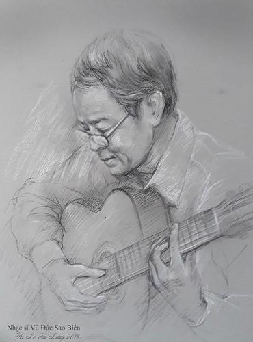 Nhạc sĩ Vũ Đức Sao Biển trong lòng người hâm mộ - ảnh 1