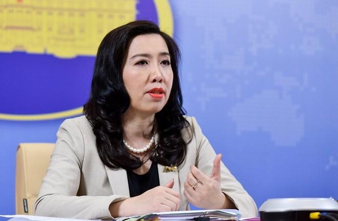 Việt Nam lên tiếng về thông tin máy bay Trung Quốc đậu ở Đá Chữ Thập - ảnh 1