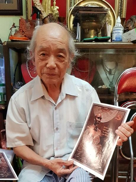 Những tác phẩm, công trình nghệ thuật điển hình về Chủ tịch Hồ Chí Minh - ảnh 1