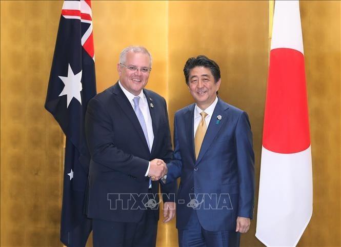 Australia-Nhật Bản phản đối hành động cưỡng chế làm thay đổi hiện trạng và gia tăng căng thẳng ở Biển Đông - ảnh 1