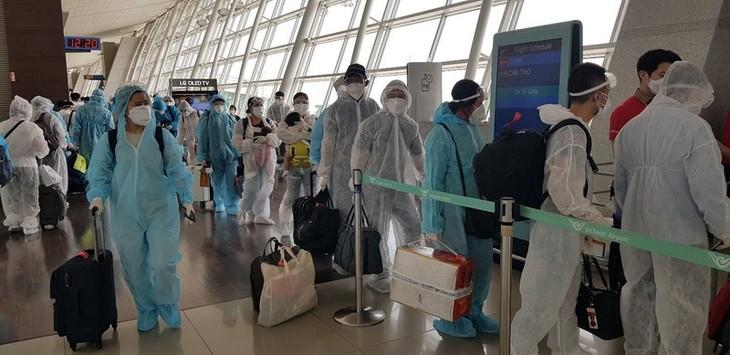 Đưa hơn 230 công dân Việt Nam từ Hàn Quốc về nước an toàn - ảnh 2