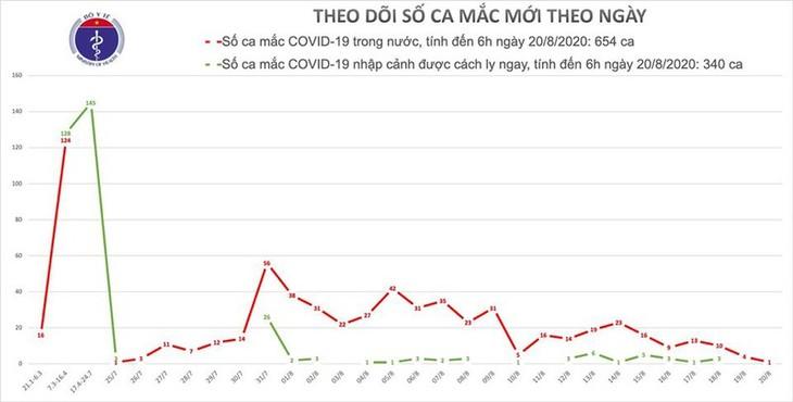 Việt Nam ghi nhận thêm 1 bệnh nhân Covid-19 - ảnh 1