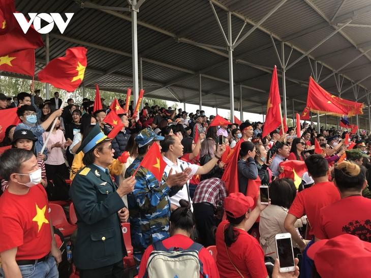 """Việt Nam về nhất vòng chung kết bảng 2 cuộc thi """"Xe tăng hành tiến"""