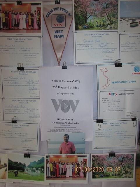 Thính giả từ Ấn Độ chúc mừng 75 năm thành lập VOV - ảnh 12